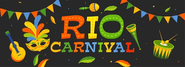 Carnival background.