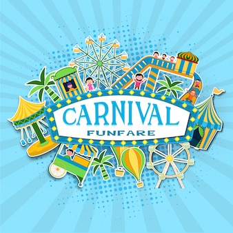 Carnival background.