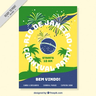 Carnival brochure of rio de janeiro