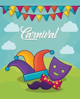Карнавальный цирковый дизайн