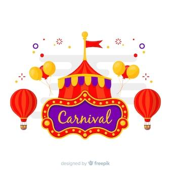 Carnival at the circus