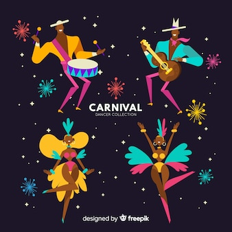 Carnival dancer collection