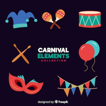 Carnival elements collection