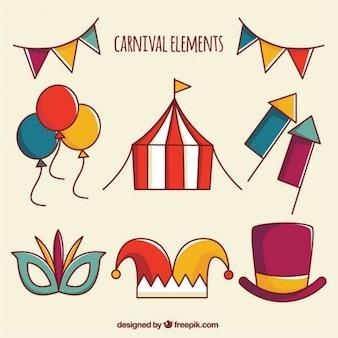 Carnival elements