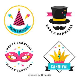 Carnival label collection