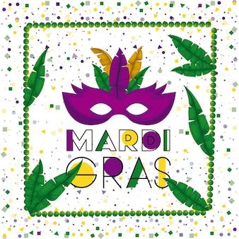 Carnival mardi gras poster