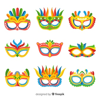 Carnival mask collection