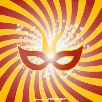 Carnival mask graphic