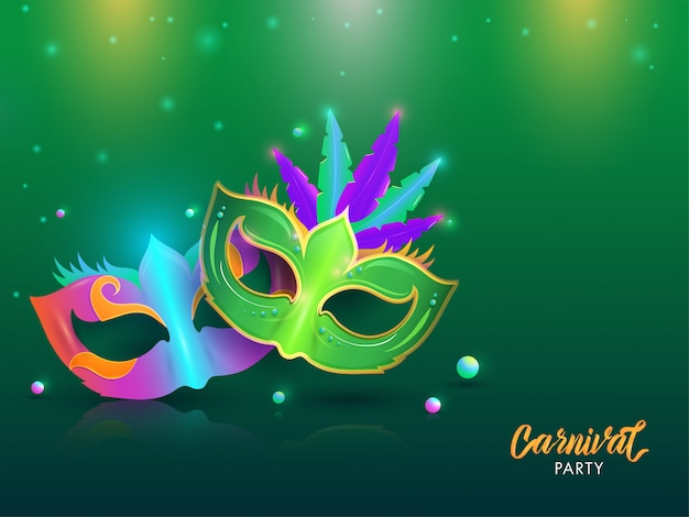 Carnival party background.