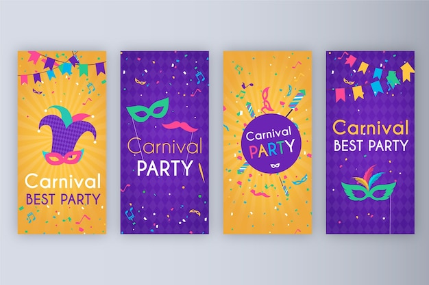 Carnival party stories collection