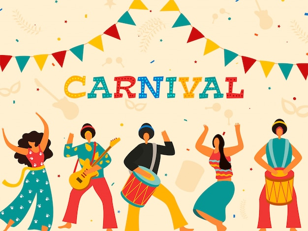 Carnival party.