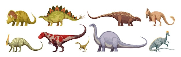 Carnivores and herbivores giants and small animals