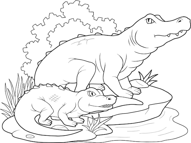 Плотоядный крокодил