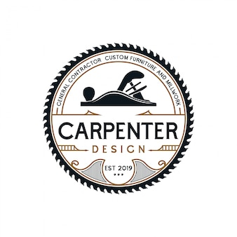 Carpenter badge vintage