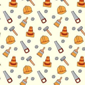 大工道具のパターン