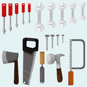 Carpenter tools set