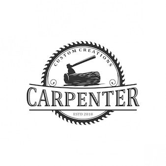 Carpenter vintage logo