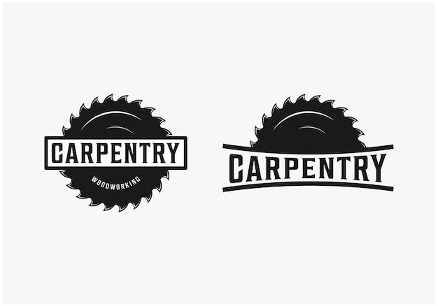Столярные изделия деревообработка вдохновение для дизайна логотипа