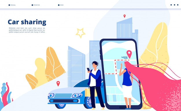 Carpooling travel by multiple people together