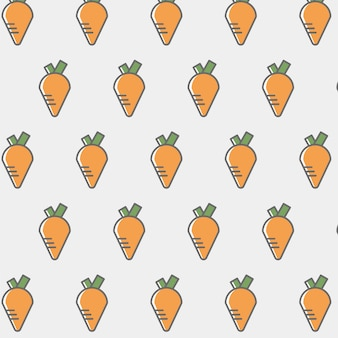 Carrot pattern background
