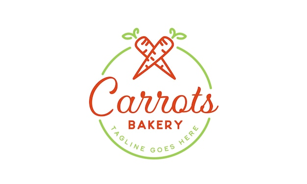 Carrots bakery logo design inspiration