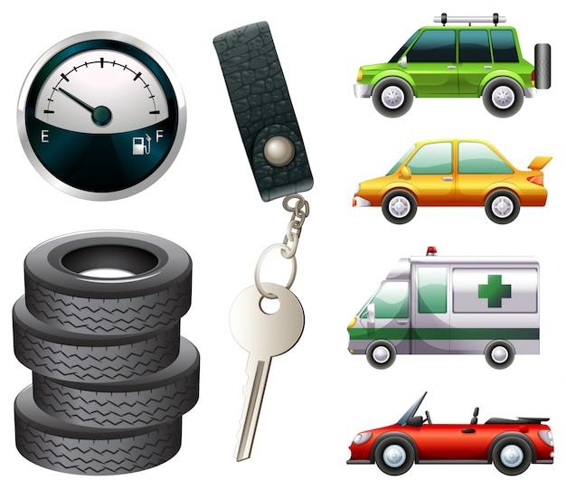 自動車および部品