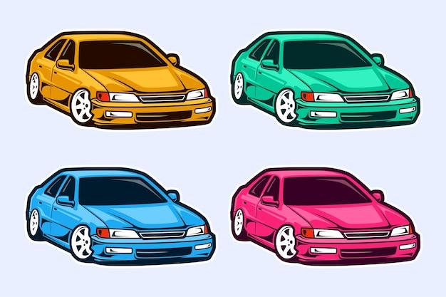 Дизайн шаблонов автомобилей
