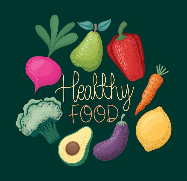 음식과 건강 식품의 카르텔