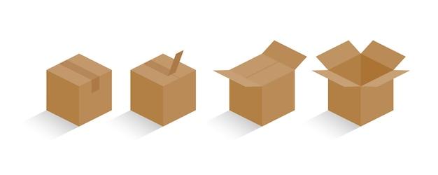 Цвет коробки в коробке, содержащий иллюстрацию процесса