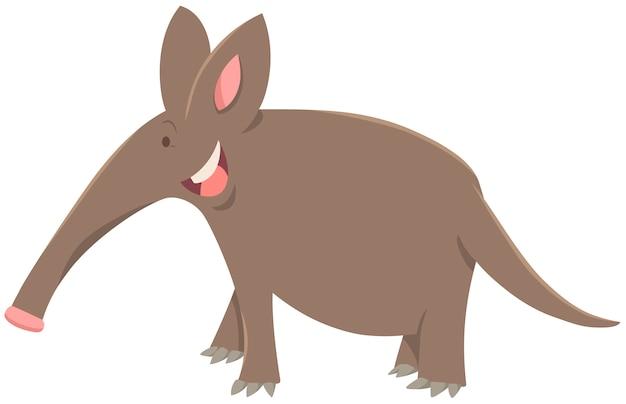 만화 aardvark 동물 캐릭터