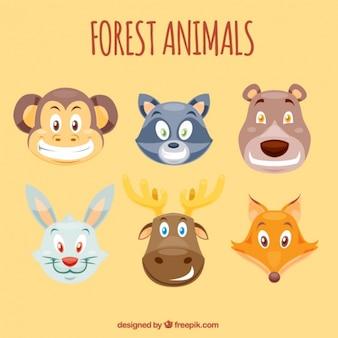 Avatar animali dei cartoni animati