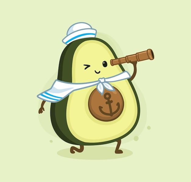 Мультфильм авокадо морской