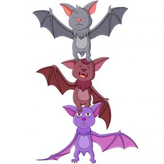Cartoon bat  illustration