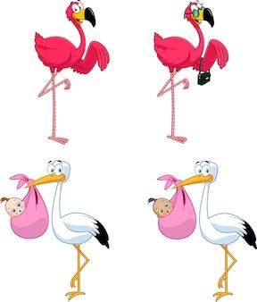 Персонажи мультфильмов птицы