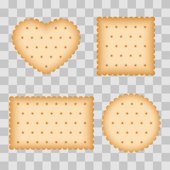 Cartoon biscuit