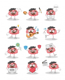 漫画の脳の創造性