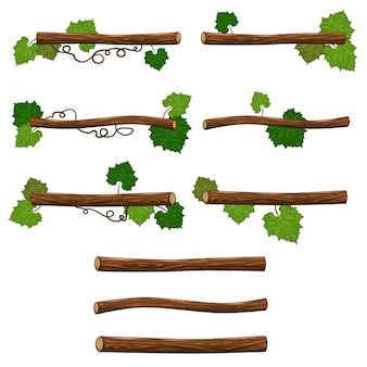 Cartoon branches
