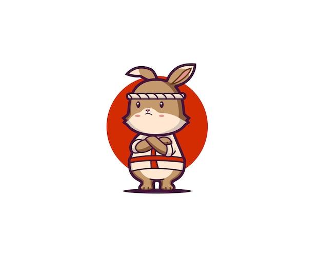 Мультфильм кролик японский повар