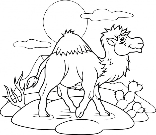 Мультфильм верблюд