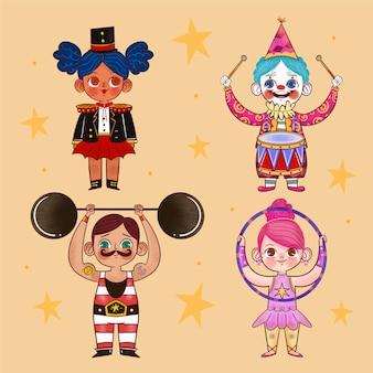 星と漫画のカーニバルの子供たちの衣装