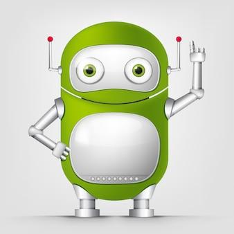 Мультипликационный персонаж techo