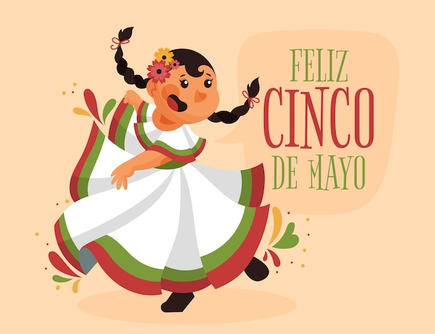 Синко де майо иллюстрации шаржа