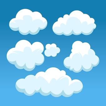 Cartoon cloud  collection