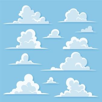 만화 구름 컬렉션