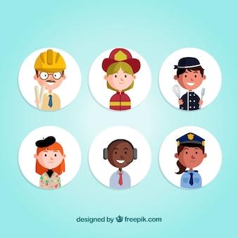 직업 아바타의 만화 모음