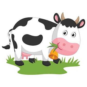 Мультяшная корова