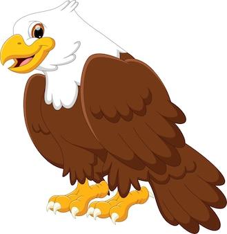 Мультфильм милый орел