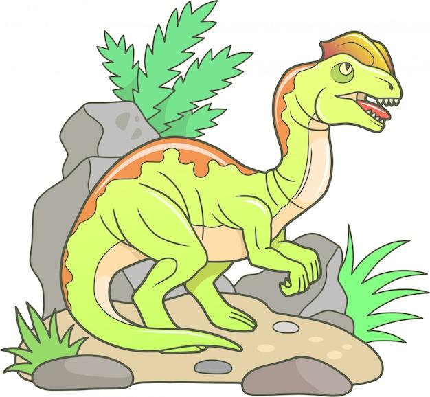 漫画の恐竜