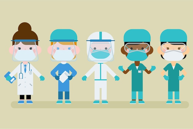 만화 의사와 간호사