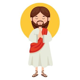 イエス・キリストの漫画の描画